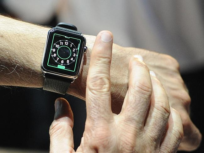 Apple Watch unveiled this week.