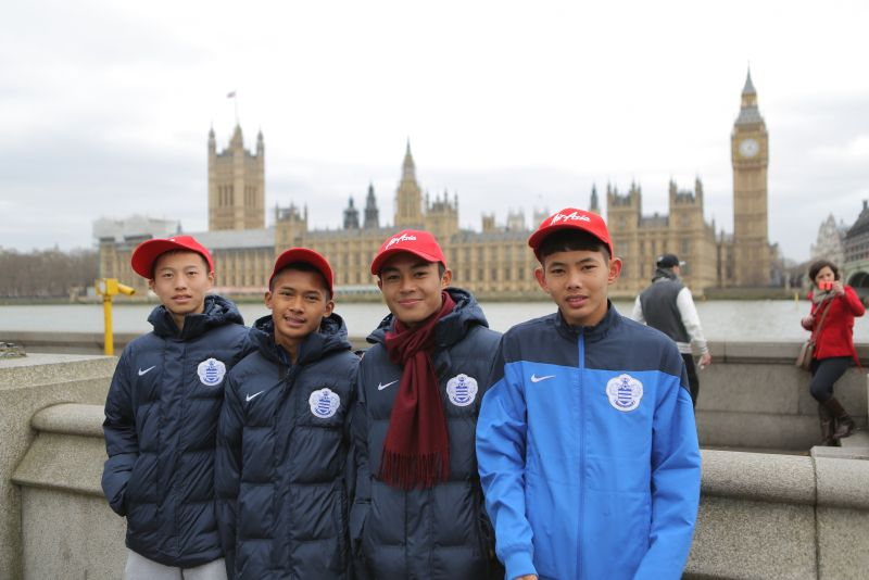 Air Asia sends four youths to train with QPR
