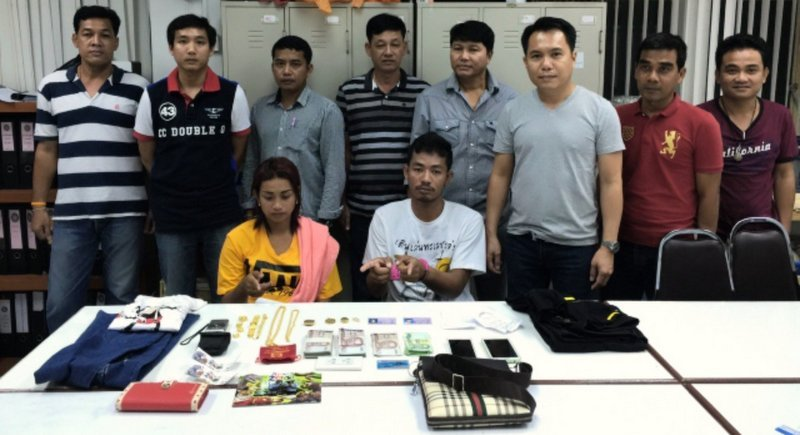 Robbery, attempted murder couple arrested in Phuket raid