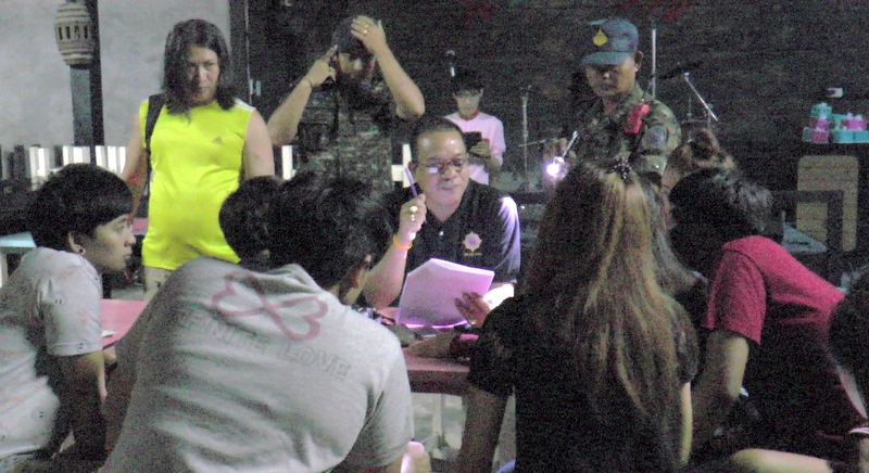 The officers found 11 teenage girls at the bar. Photo: Eakkapop Thongtub