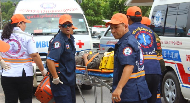 The mass-evacuation disaster drill will be held in Phuket Town from 8am to midday.