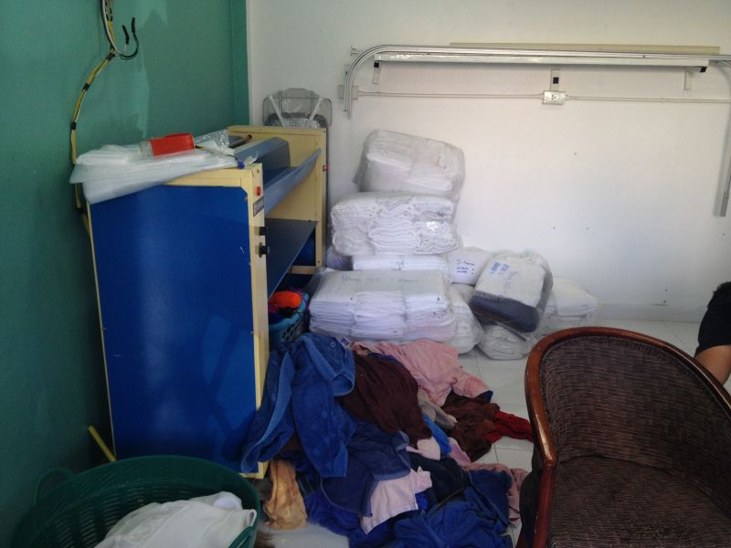 Commercial laundry in Patong