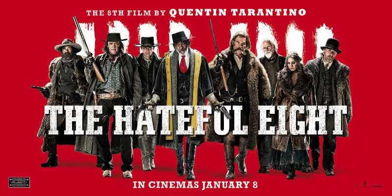 Film: Got to love 'The Hateful Eight' new film by Tarantino