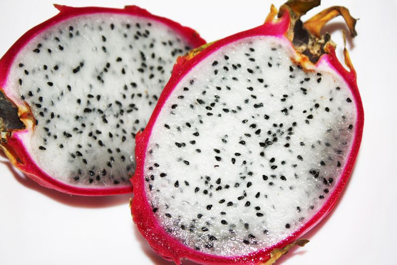 Beyond the pink of dragon fruit