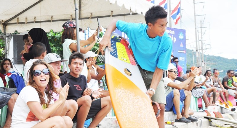 Surf competition time