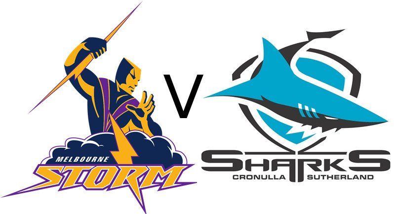 Melbourne Storm and Cronulla Sharks will slug it out this weekend for the top spot in Australia's National Rugby League.