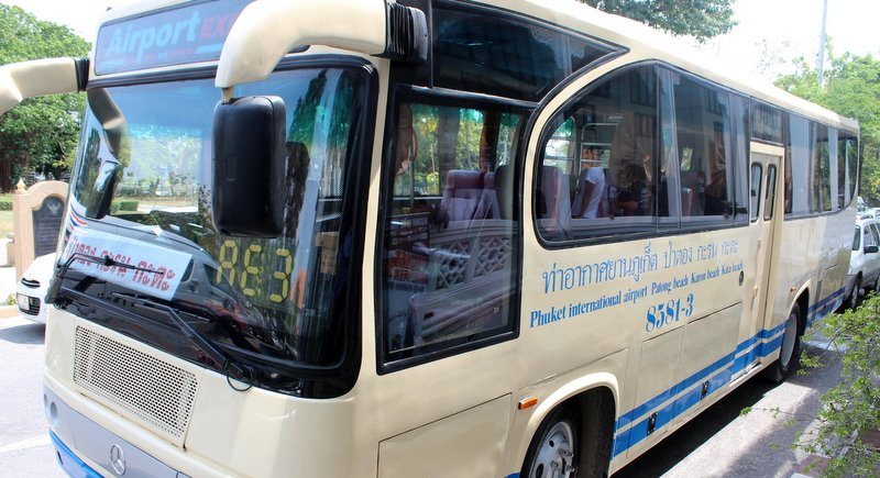 Is the Phuket Airport bus still running to Patong?