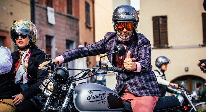 The Distinguished Gentleman's Ride is a worldwide motorcycling charity event. Photo Supplied