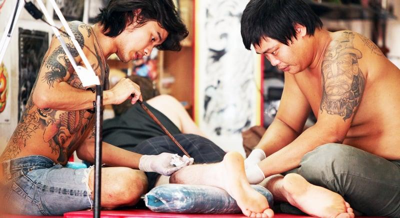 The spiritual art of Sak Yant - traditional Thai tattoos