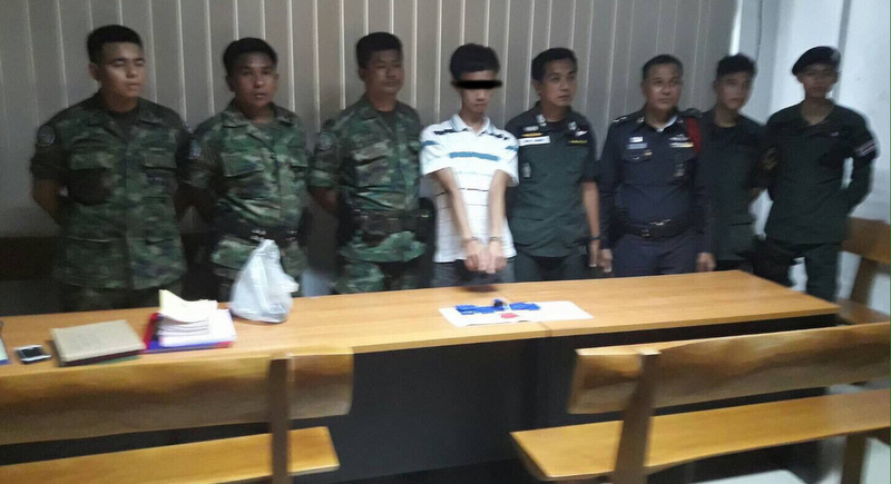 Phuket police seize 1,300 meth pills on bus from Malaysian border