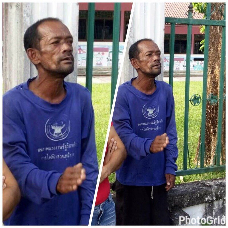 Somkuan Jongsuk, 50, is wanted for setting his ex-wife Rungruedee Sithibut on fire. Photos: Thalang Police