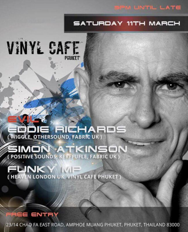Evil Eddie Richards at Vinyl Cafe