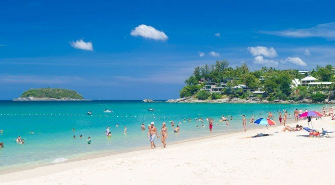Kata Noi Beach was rated eighth-best beach in Asia. Photo: TAT