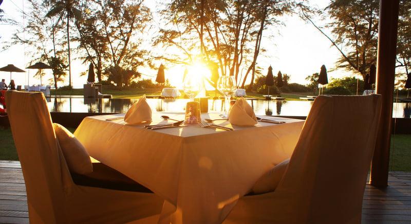 Sublime sunset dining at Sala Phuket