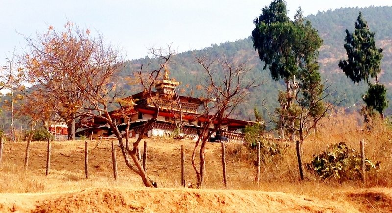 Chimi Llakhang-Punakha. Photo: Andrew J Wood