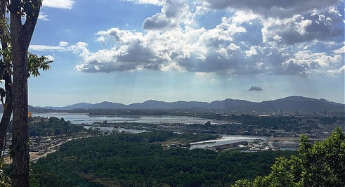 The view from Koh Siray Temple. Photo: Jamie Monk