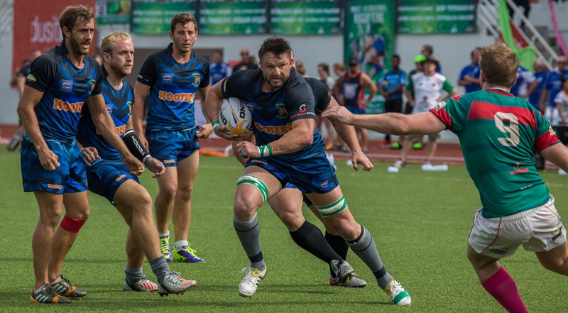 Phuket Vagabonds mean business in this year's rugby 10s