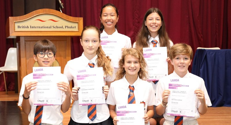 From left: Award winners Vichayut Roengkarn, Alexandra Starostina, Tiffany Yip, Gemma Essex, Malaika Primarolo and Matthew Diamond.