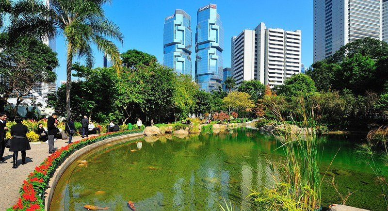 Surprisingly, the city has many green spaces to escape the bustle of the streets. Photo: Hong Kong Tourism Board