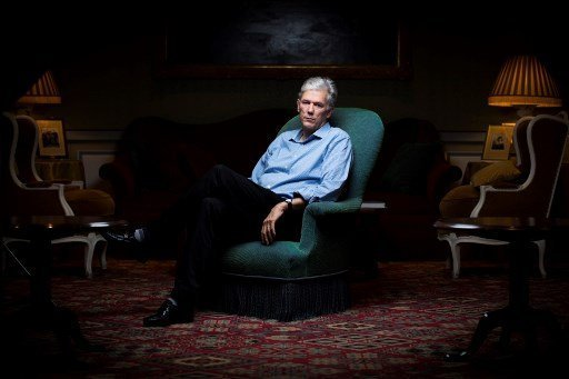 Author and journalist for 'The New Yorker' magazine William Finnegan. Photo: AFP