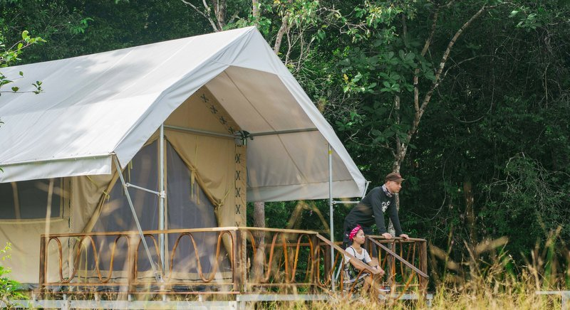 Organisers of the Cardamom Tented Camp says its camping tours have been created for nature tourists who want their expenditure to help keep the forest standing.