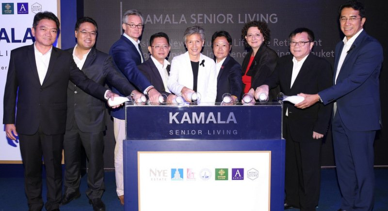 The managing directors of the B3.5 billion Kamala Senior Living Phuket residential development have revealed more details of how the property will be managed.
