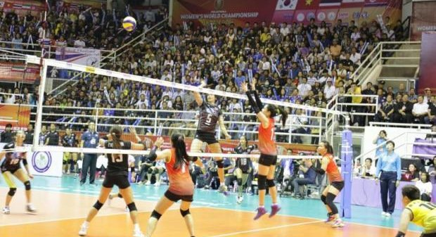 Thai spikers a win from place at world championship