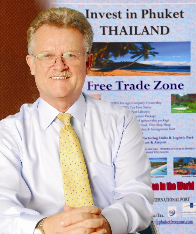 FTZ expert Tony Restall has long called for Phuket to be established as Free-Trade Zone, and now says the time has never been better.