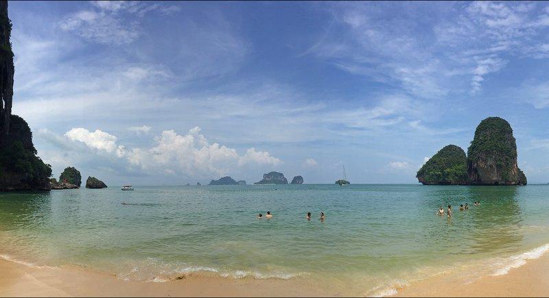 The beachat  Phra Nang, Krabi