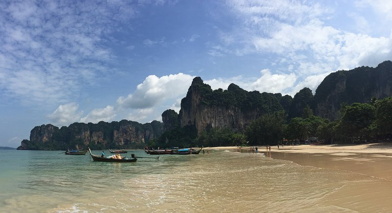 Railay Beach (west) in Krabi