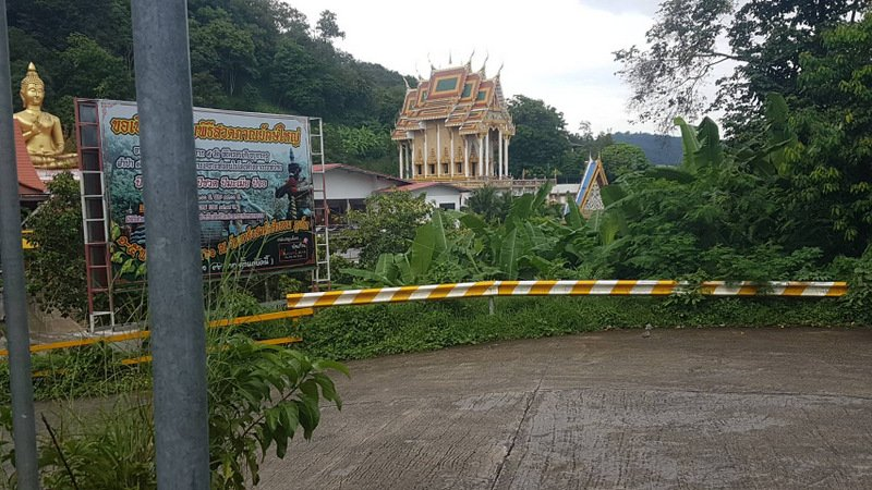 The road will remain closed until July 27, 2018. Photo: Phuket City Police