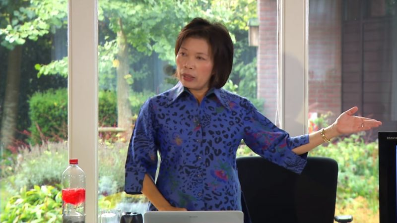 Ajarn Supawan is based in the UK and travels the world teaching her unique and simple style of Buddhist mindfulness techniques including Vipassana Meditation and Tai Chi Qi Gong. Photo: Youtube