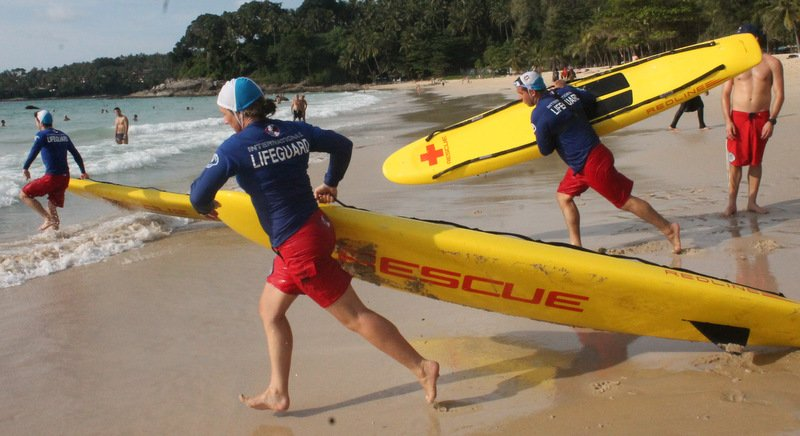 Free ISLA professional lifeguard training gains ground in Phuket
