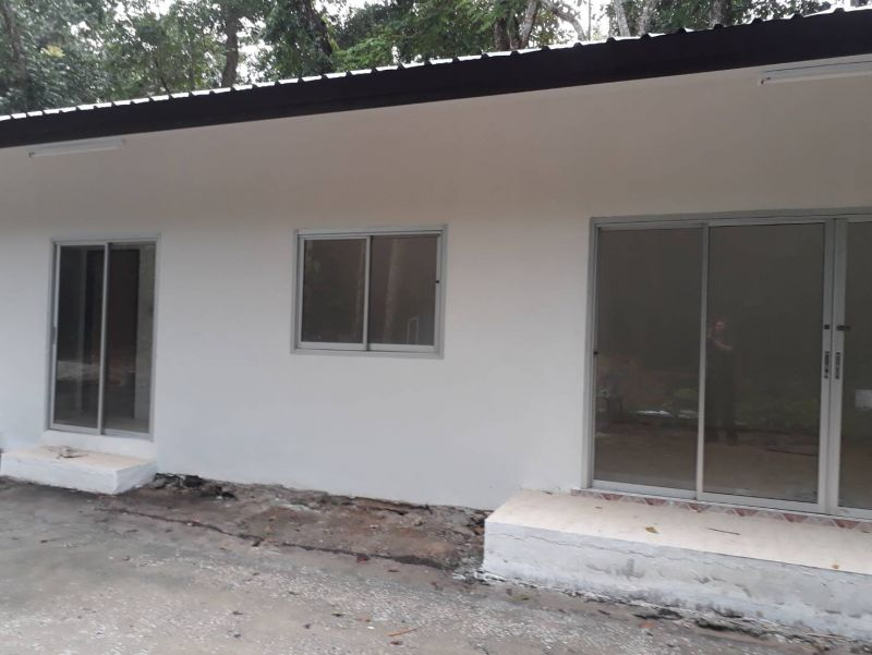 Some of the new and improved buildings at the Phuket Stray Dog Shelter. Photo: Phuket Livestock Office