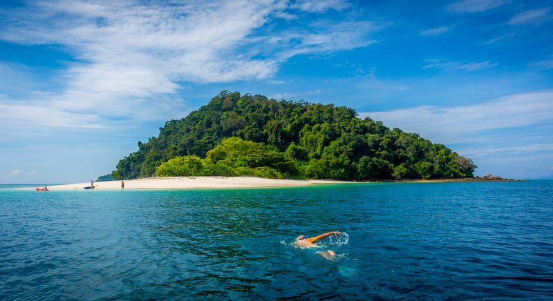 The stunning Mergui Archipelago sits off the southern tip of Myanmar. Photo: David Van Driessche