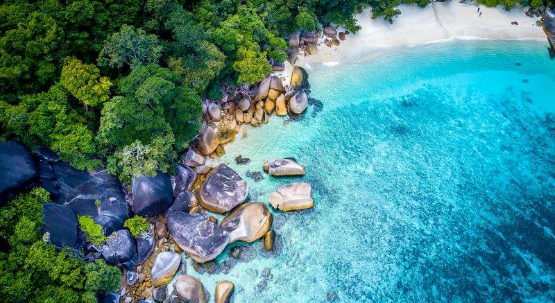 The stunning Mergui Archipelago sits off the southern tip of Myanmar. Photo: David Van Driessche