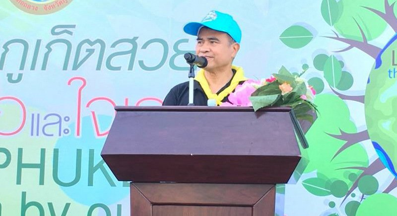 Phuket Governor Norraphat Plodthong joined the event. Photo: PR Dept