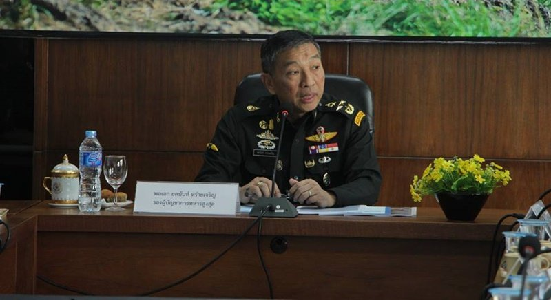 Deputy Chief of the Royal Thai Army Gen Yodsanan Raicharoen. Photo: PR Dept