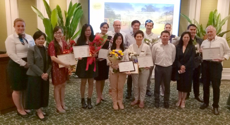 PHUKET: The Apollo Travel Group honoured its Customer Choice 2017 award winners with a special event held at the Katathani Phuket Beach Resort on Phuket's southwest coast last Tuesday (Jan 30).
