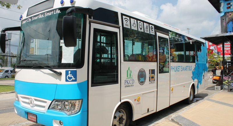 Let's hope this latest attempt to deliver reasonably priced public transport to Phuket's west coast tourist towns succeeds and leads the way for the rest of the island. Photo: Shela Riva