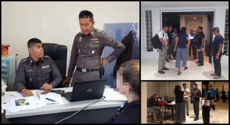 Police in Phuket were unaware of the kidnapping and ransom demands until the woman filed a complaint at Chalong Police Station on Tuesday (Mar 6). Photos: Chalong Police