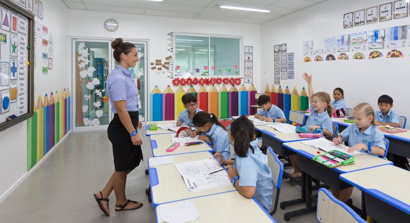 All BCIS classrooms are equipped with the latest technology. Photo: Supplied
