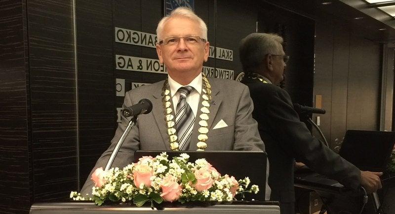 Andrew Wood elected President of Skål International Bangkok at AGM