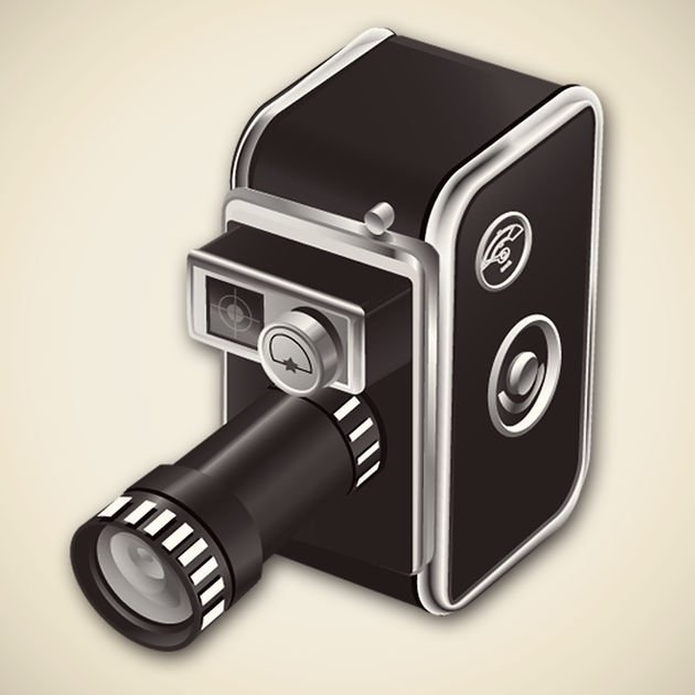 The app logo for 8mm Vintage Camera.