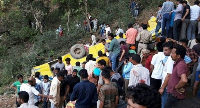 30 dead, mostly children, as India school bus plunges off cliff