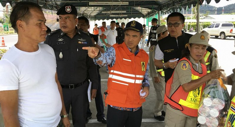 Phuket Governor orders 'autopsy' on Songkran Seven Days road-safety campaign