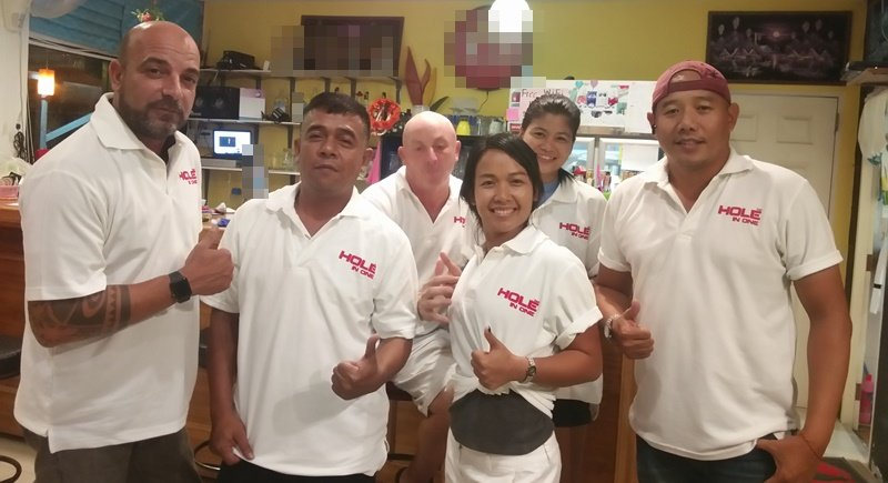 Hole in One take Patong Pool League title