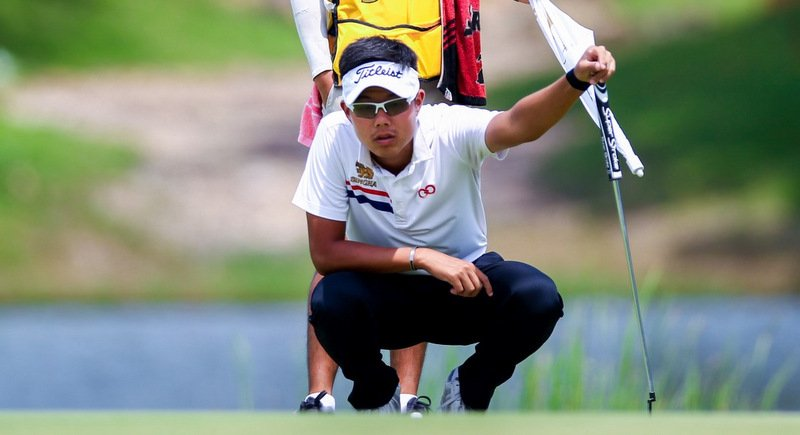 Varanyu Rattanaphaibulkij of Thailand. Photo: All Thailand Golf Tour