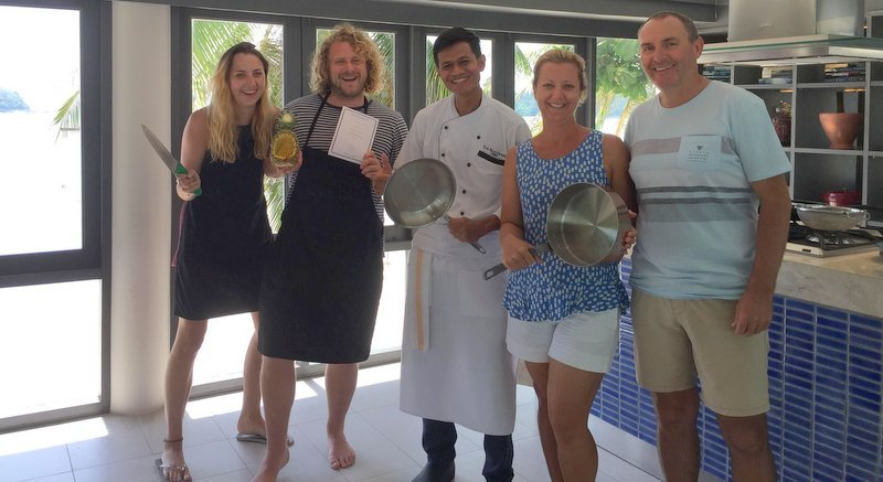 Learn the secrets of healthy and delicious Thai cooking at The Boathouse cooking school. Photo: Supplied