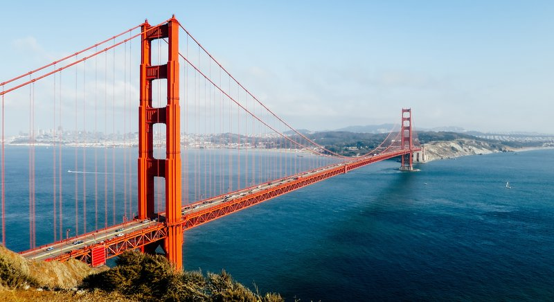 The Golden Gate Bridge in another bridge where people go to commit suicide. Photo: PXHere
